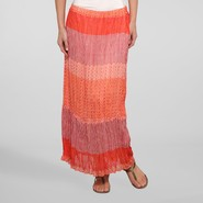 Jaclyn Smith Women's Maxi Skirt - Tribal at Kmart.com