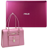 "ASUS X202ED 11.6"" Notebook Pink and Carrying Bag Bundle at Sears.com"