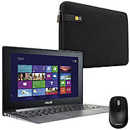 "ASUS Taichi21 11.6"" Notebook, Mouse and Sleeve Bundle at Sears.com"