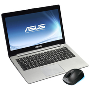 "ASUS VivoBook S400CA 14.1"" Notebook and wireless mouse bundle at Sears.com"