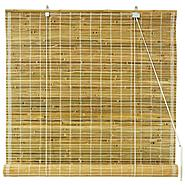 Oriental Furniture Burnt Bamboo Roll Up Blinds - Natural - (36 in. x 72 in.) at Kmart.com