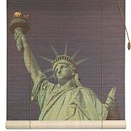 Oriental Furniture Statue of Liberty Bamboo Blinds - (36 in. x 72 in.) at Kmart.com