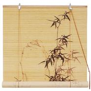 Oriental Furniture Black Bamboo Design Blinds - (24 in. x 72 in.) at Kmart.com