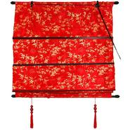 Oriental Furniture Shang Hai Tan Blinds - Red - (24 in. x 72 in.) at Kmart.com