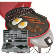 Mr. Bar-B-Que 18-piece Grilling Set & Cast Iron Griddle Bundle at Sears.com
