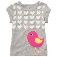 Carter's Toddler Girl's Graphic Tee 'Pink Bird' at Sears.com