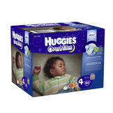 Huggies Overnites Diapers, Size 4, 60ct at mygofer.com