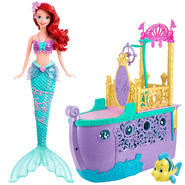 Disney Ariel Doll & Playset Bundle at Kmart.com