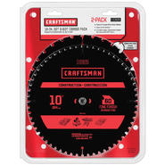 Craftsman 10 In. 32T & 60T Combo at Sears.com