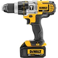 DeWalt 20 V MAX* Lithium Ion Premium 3-Speed Hammerdrill Kit (3.0 Ah) at Sears.com