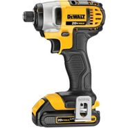 DeWalt 20 V MAX* Lithium Ion 1/4 In. Impact Driver Kit (3.0Ah) at Sears.com