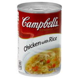 Campbell's Soup, Condensed, Chicken with Rice, 10.5 oz (298 g) at mygofer.com