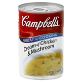 Campbell's Soup, Condensed, Cream of Chicken & Mushroom, 10.75 oz (305 g) at mygofer.com