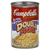 Campbell's Soup, Condensed, Double Noodle, Classic Recipe, 11 oz (312 g) at mygofer.com