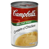 Campbell's Soup, Condensed, Cream of Chicken, 10.75 oz (305 g) at mygofer.com