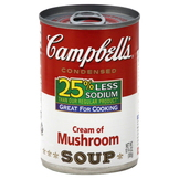 Campbell's Soup, Condensed, Cream of Mushroom, 10.75 oz (305 g) at mygofer.com