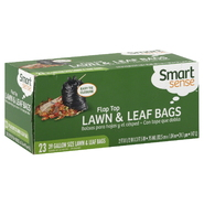 Smart Sense Lawn & Leaf Bags, Flat Top, 39 Gallon Size, 23 bags at Kmart.com