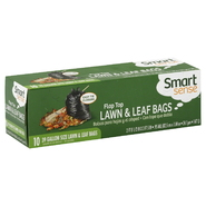Smart Sense Lawn & Leaf Bags, Flap Top, 39 Gallon Size, 10 bags at Kmart.com