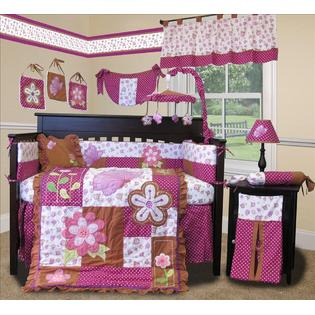 SISI Custom Baby Boutique - Sweet Garden 15 PCS Crib Bedding Nursery Set at Sears.com