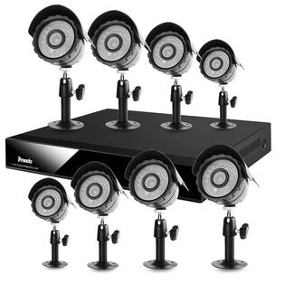 Zmodo CCTV 8CH Security Surveillance System with 65ft IR &amp; 24LEDs Night Vision Security Cameras-NO HD at Sears.com