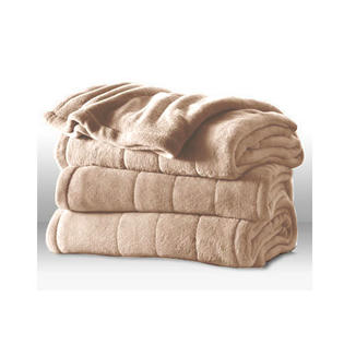 Sunbeam Channeled Microplush Electric Heated Blanket - Twin Full Queen King Size at Sears.com