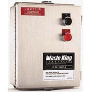 Waste King 1024 Waterproof NEMA 4 Enclosure Dual Voltage 230/440 Volts 50/60 Hz at Sears.com