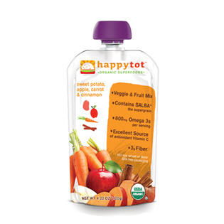 Happy Tot 0209312 Happy Baby Organic Superfoods Sweet Potato Apple Carrot and Cinnamon - 4.22 oz at Sears.com