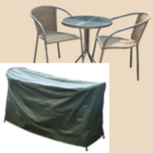 Bosmere C513 Cafe Set Cover for Round Table - 2 chairs at Sears.com
