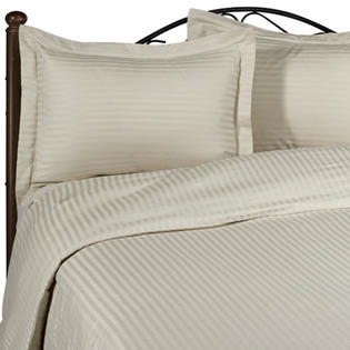 SimplyLinens: 1000 Thread Count 100% Egyptian Cotton Stripes / Striped pattern Bed Sheets Set [Elastic Fitted Sheets - Deep Pockets] at Sears.com