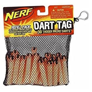 HASBRO Nerf Dart Tag Refill Pack: 30 Tagger Micro Darts at Sears.com