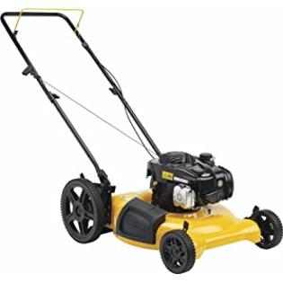 Poulan Pro PR500N21SH High-Wheel Side Discharge/Mulch Push Mower, 21-Inch at Sears.com