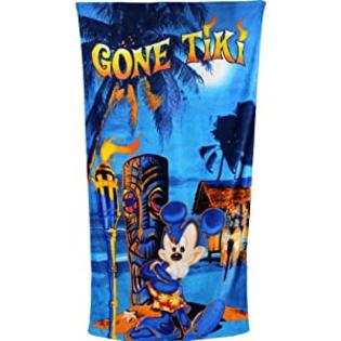 Disney Mickey Mouse&amp;#34;Gone Tiki&amp;#34; Beach Towel at Sears.com