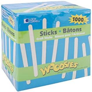 Wmu Craft Sticks 4-1/2&amp;#34;&amp;#34;X3/8&amp;#34;&amp;#34;-1000/Pkg at Sears.com