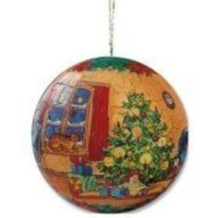 Ravensburger Christmas Puzzle Ball Holiday Scene with Church 60 Piece at Sears.com