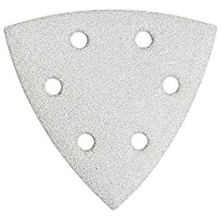 Bosch SDTW080 Detail Triangle, Hook &amp; Loop Sanding Sheet, White, 80 Grit, 5-Pack at Sears.com
