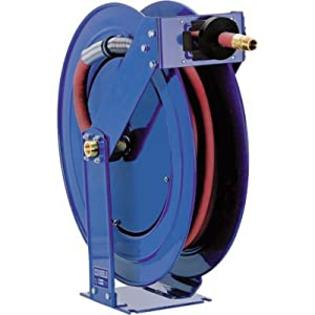 "Coxreels Truck Series Maximum-Duty Air Hose Reel, 300 PSI, Model# TSH-N-350, 3/8"" Hose ID, 50' Length at Sears.com"