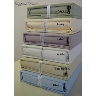 Royal Tradition Twin Extra Long size Percale Sheet set 100% Egyptian cotton 300 Thread count at Sears.com
