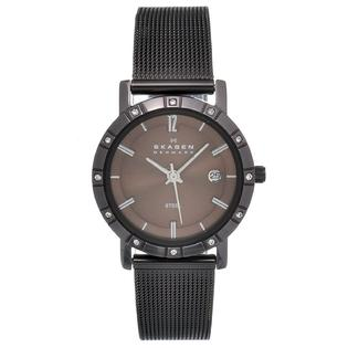 Eziba Collection Skagen Women&#039;s Brown Steel Mesh Strap Watch at Sears.com