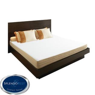 AT HOME by O SplendoRest Avena 8-inch Twin-size Memory Foam Mattress-in-a-Box at Sears.com