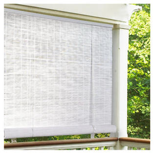 Lewis Hyman 0320146 PVC Roll Up Blind 48&amp;#34;W x 72&amp;#34;L, White at Sears.com