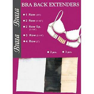"Braza Washable Fine Tuning Bra Back Extenders Pack - 2 Hook (1 1/4"") at Sears.com"