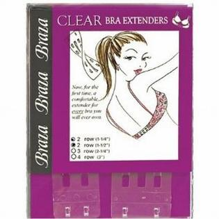 Braza 3 Hook Four Position Clear Bra Extender at Sears.com