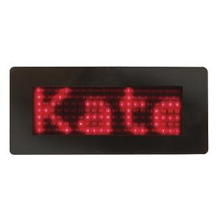 Flipo Scrolling LED Name Badge, Red Leds at Sears.com