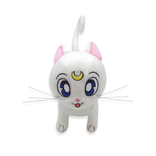 GE Plush Artemis Sailor Moon anime Cat Plushie White toy doll character ~8x6x3.5 in at Sears.com