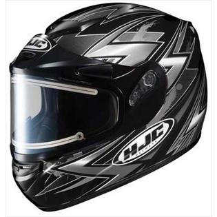 HJC CS-R2 Snow Helmet Thunder Electric Shield Black Silver 2xl at Sears.com