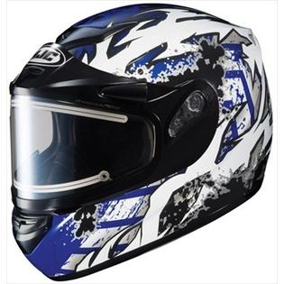 HJC CS-R2 Snow Helmet Skarr Blue Black Electric Shield 2xl at Sears.com