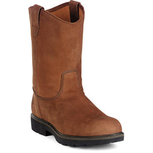 GEORGIA G4673 11&amp;#34; ST Wellington Boot Pull-on Brown Men Wide at Sears.com
