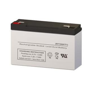 Batterysharks 4C2 6 Volt 12 AmpH SLA Replacement Battery with F1 Terminal at Sears.com