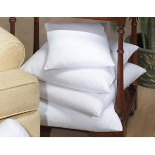 DOWNLITE EnviroLoft Polyester Decorative Pillow Insert Form Various Shapes -Made in USA 024 x 024 at Sears.com