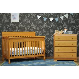 DaVinci Kalani 4 in 1 Convertible Crib with Toddler Rail in Honey Oak at Sears.com